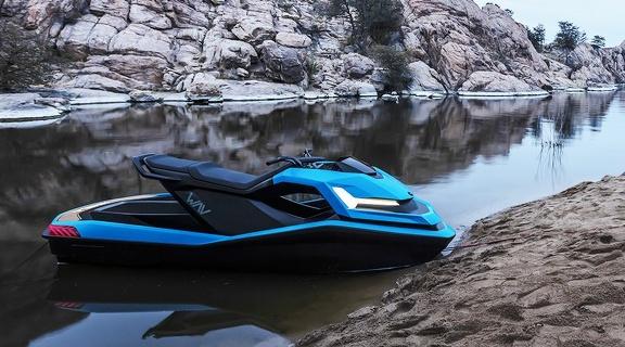jet-ski 100% électrique Wav
