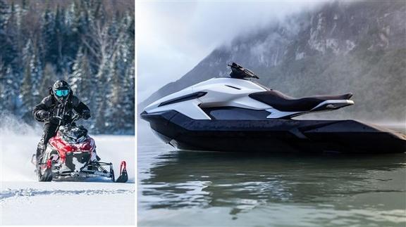 Des Québécois ont développé une motomarine et une motoneige électrique