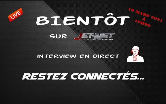 Live Jet-Net - Le 19 mars 2021 à 19h00, nous recevons Gilles PORET