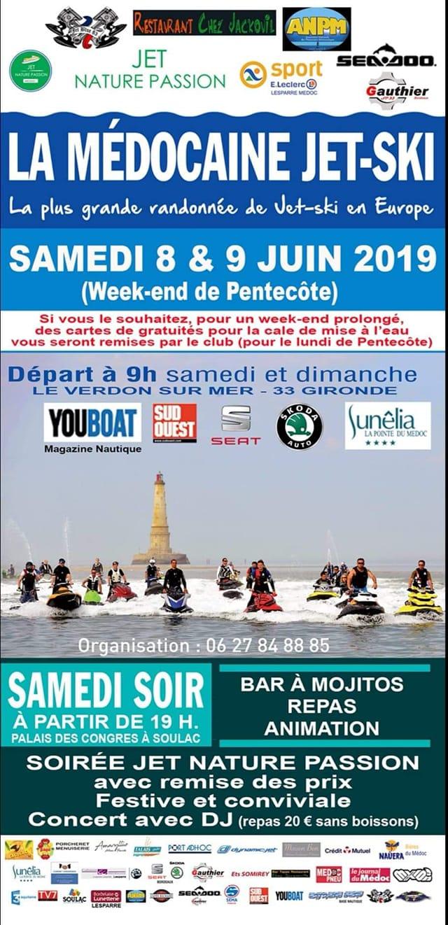 La Médocaine Jet-Ski 2019